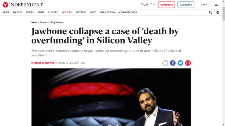 jawbone overfunding article