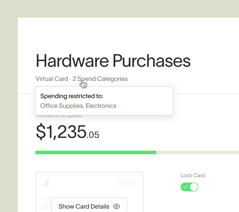 Virtual cards: The modern way to manage your startup's spend
