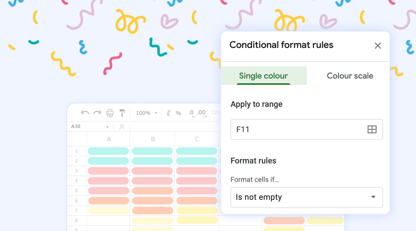 Definitive Guide to Conditional Formatting on Google Sheets.
