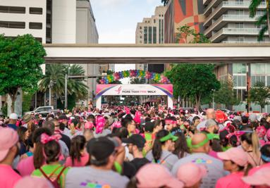 Susan G. Komen More Than Pink Walk Alivi