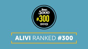 Alivi Inc Magazine Inc5000 Award Winner