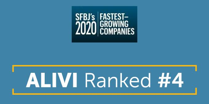 Alivi Awarded Fast 50 Award from the South Florida Business Journal