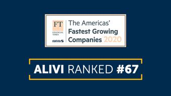 FInancial Times Fastest Growing Companies Alivi