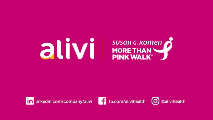 Alivi More Thank Pink Walk Susan G. Komen