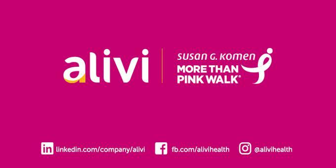 ALIVI SPONSORS MORE THAN PINK WALK™