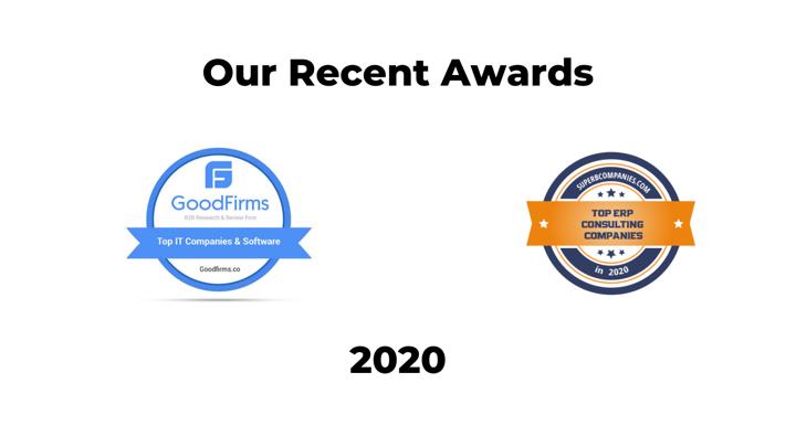 Anchor Group recent awards