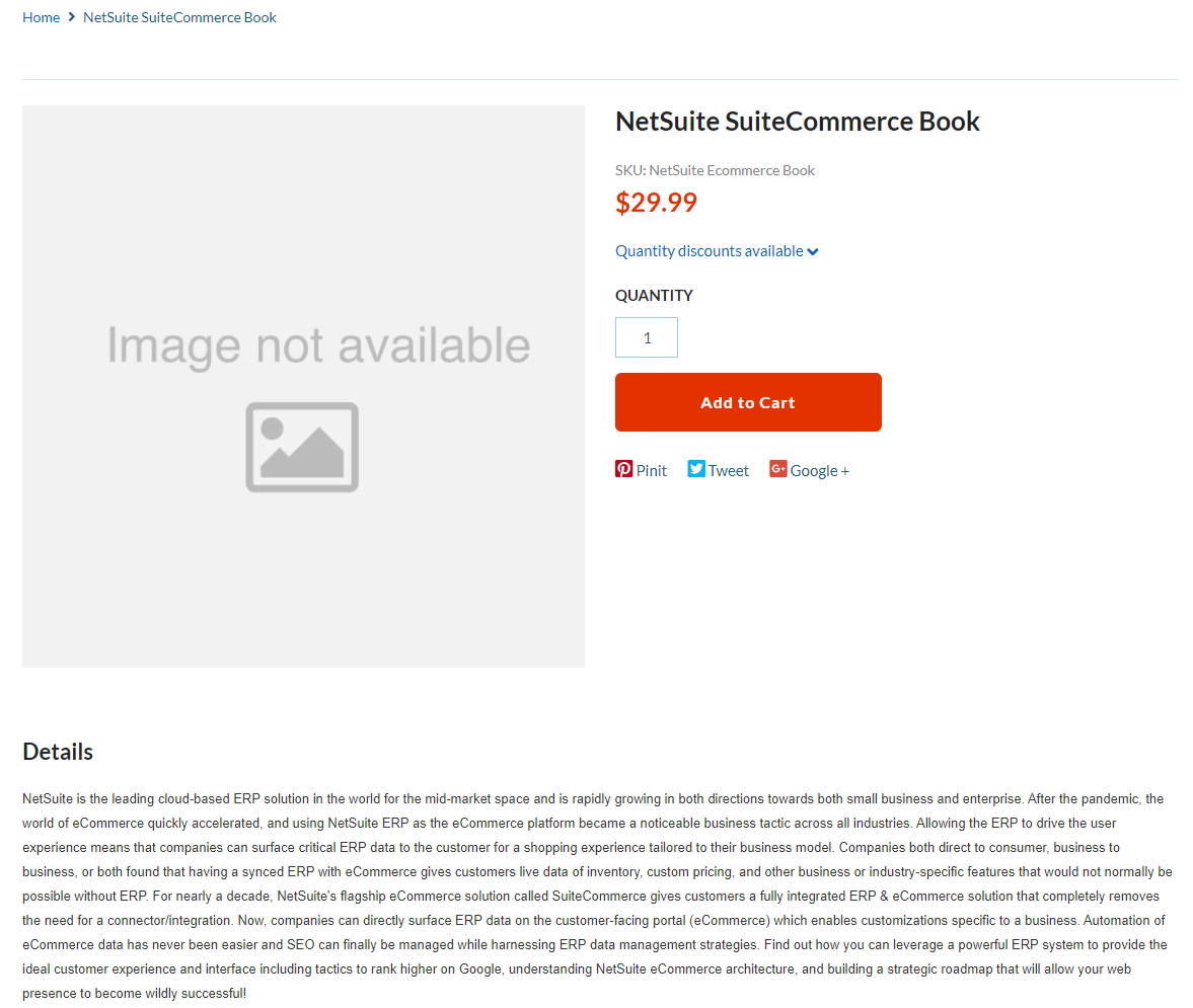 Automatically Adding SuiteCommerce Images to your NetSuite Item