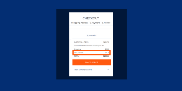 automatic credit card fee A SuiteCommerce App by the developers at Anchor Group