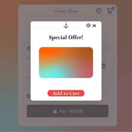 Checkout popup NetSuite SuiteCommerce App