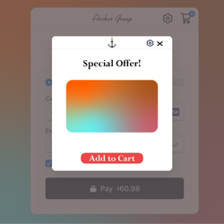 Click here for Pop-Up Offer App