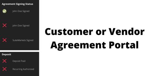 Customer Agreement Portal graphic NetSuite erp software