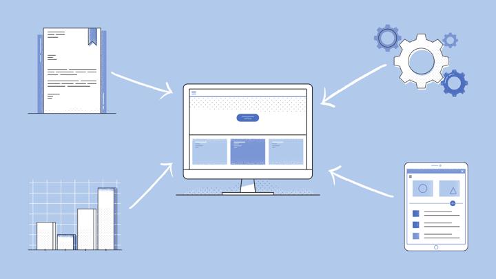 ERP integration graphic