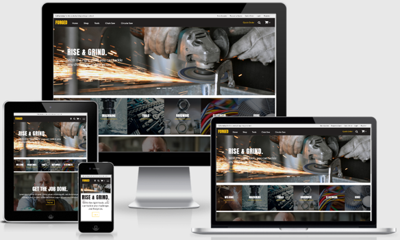 Forged SuiteCommerce Theme best erp software