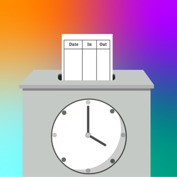 Click here for Hourly Employee Time Clock App