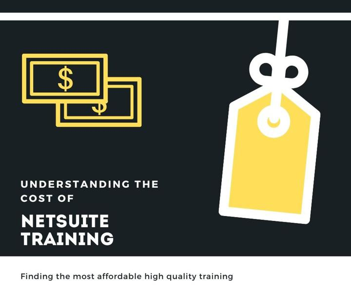 How much is NetSuite training graphic