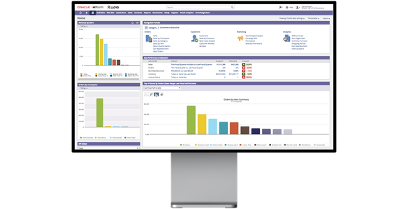 NetSuite Dashboard Mockup NetSuite Consultants and Developers