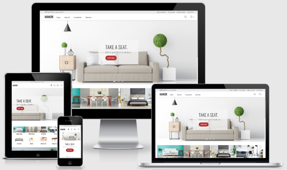 Furniture SuiteCommerce Theme