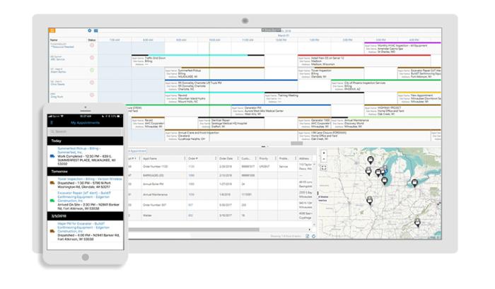 MSI mobile and desktop view