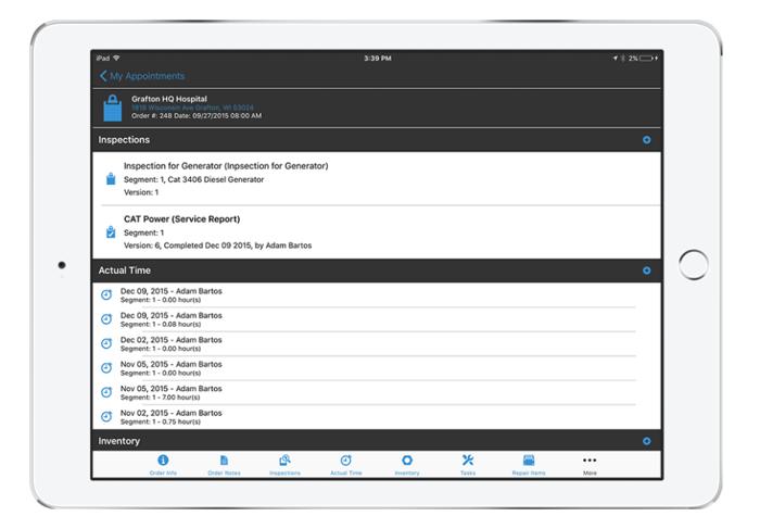 iPad MSI view