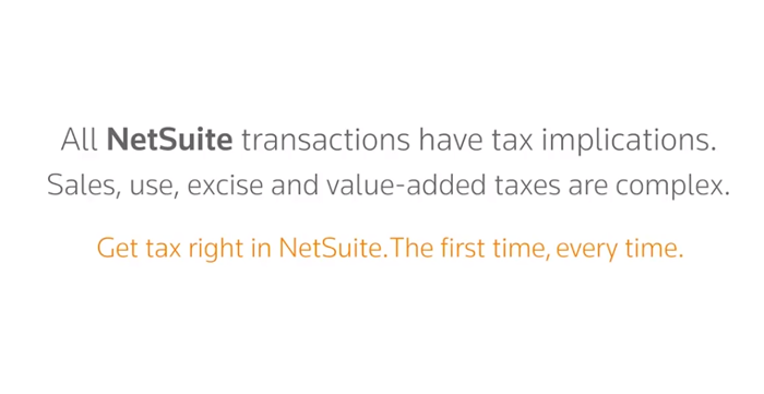 All netsuite transactions have tax implications