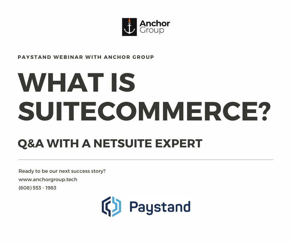 What is SuiteCommerce?