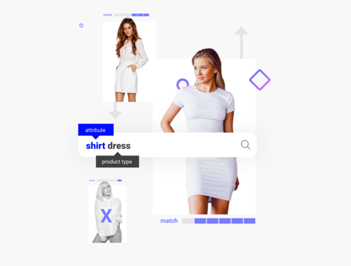 Searchspring search for shirt dress