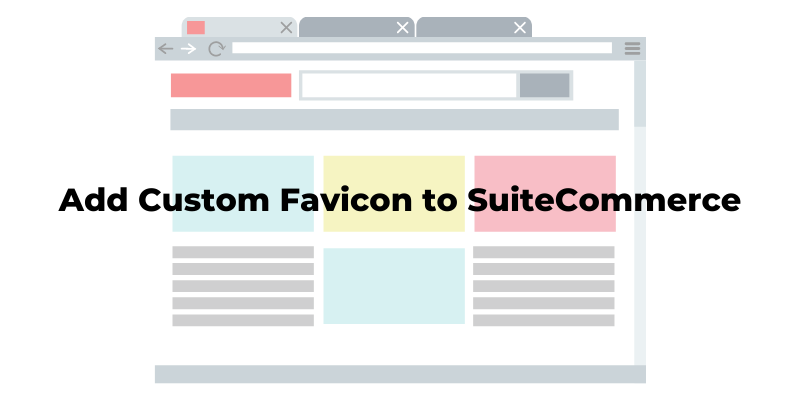 How to add a custom favicon to a SuiteCommerce site