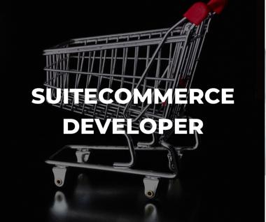 SuiteCommerce developer and NetSuite developer