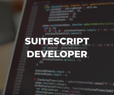 SuiteScript NetSuite developer and NetSuite partner