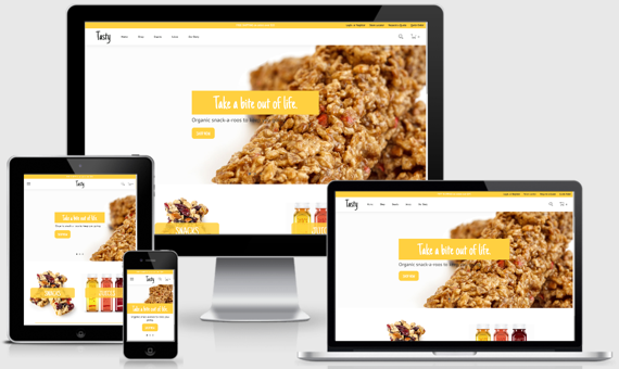 Food Theme in SuiteCommerce