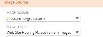 website image folder