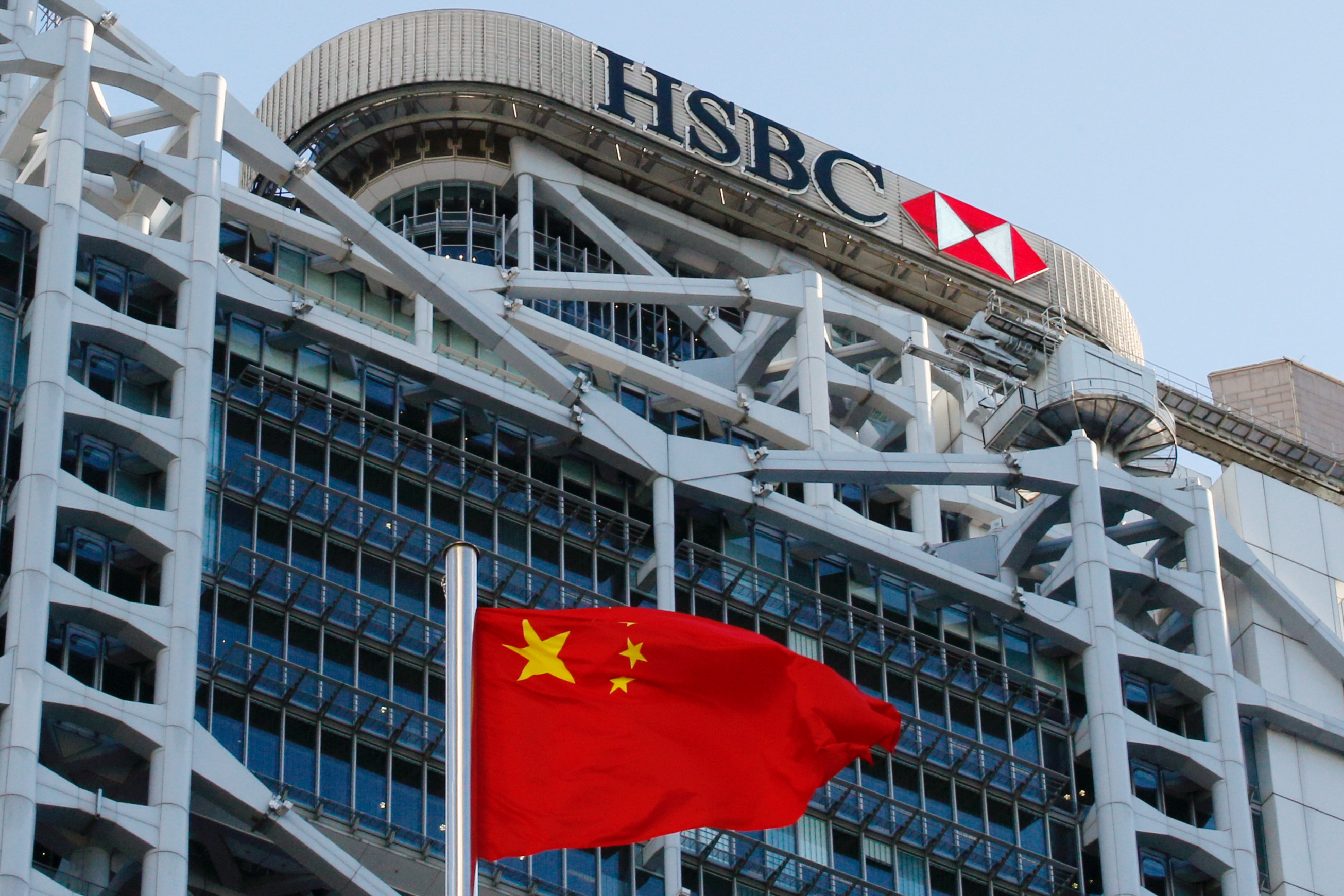 HSBC focus on China pays off with 79% profit leap