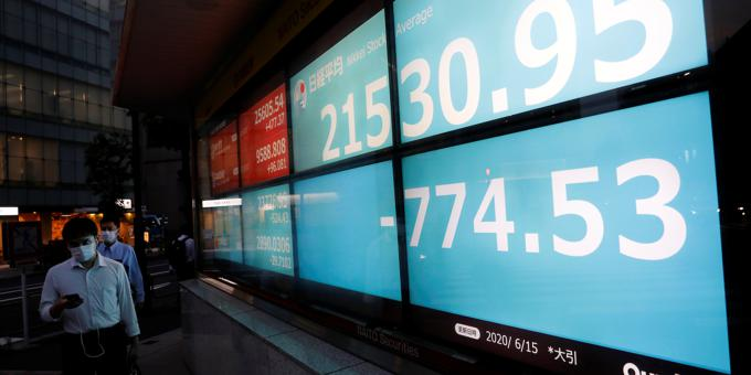 Markets spooked by infection count; HSBC shines