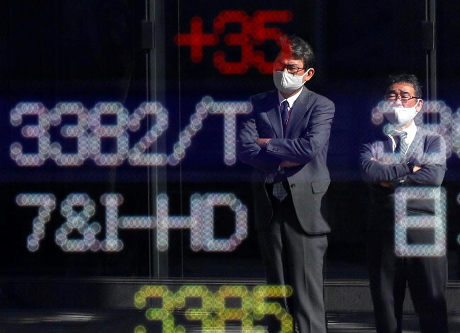 Markets near highs with eyes on vaccine, economic support