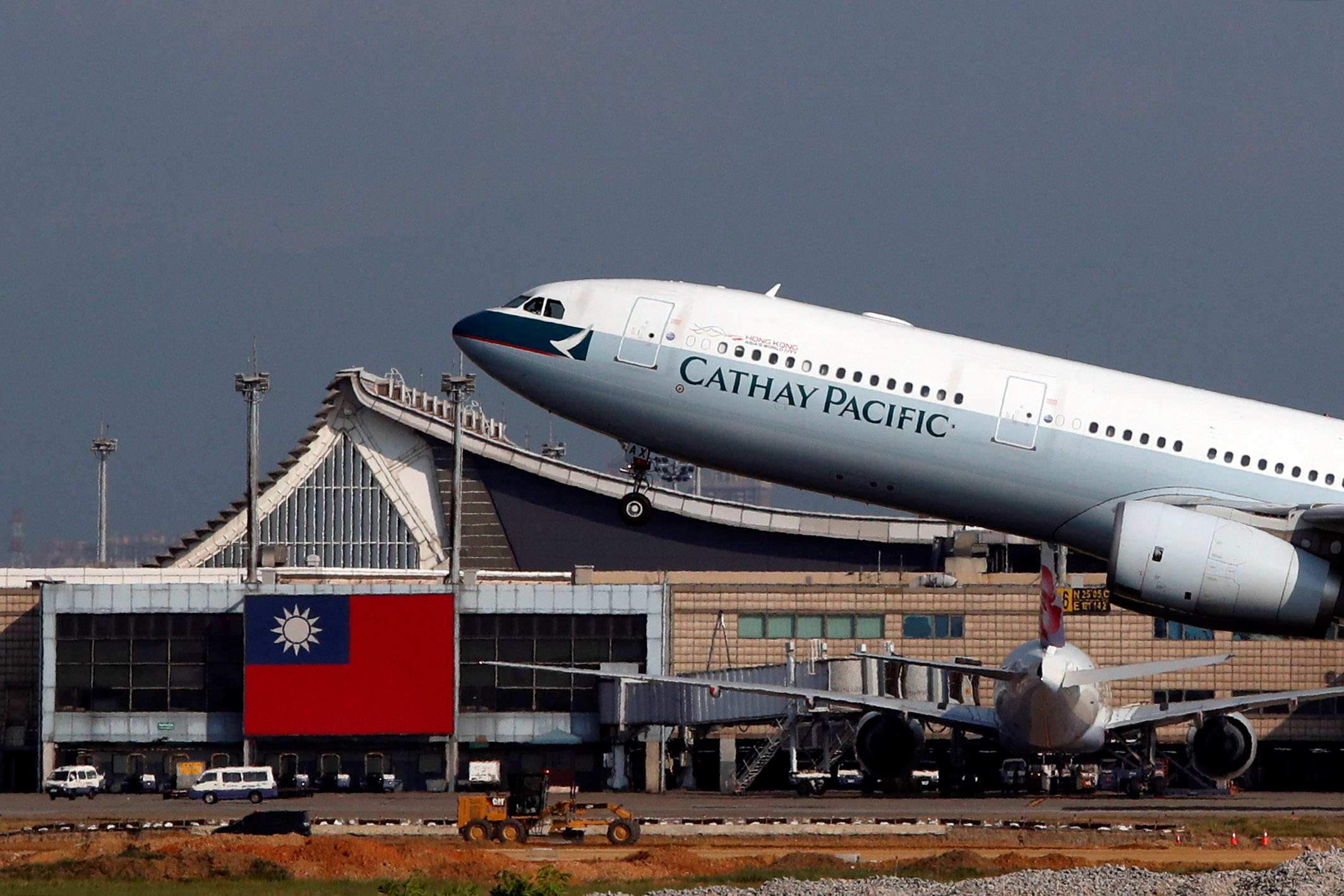 Triple whammy puts Cathay investors on guard