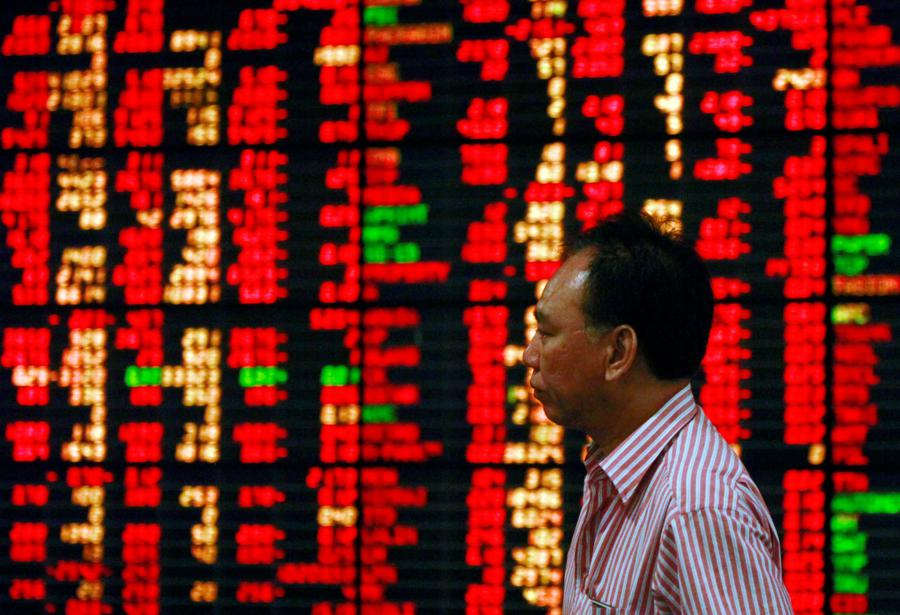 China liquidity weighs on investor sentiment