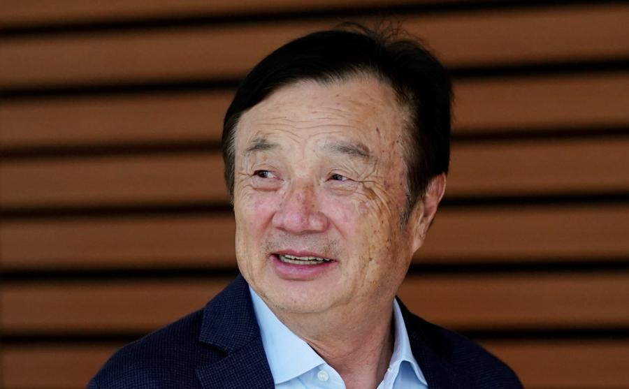 Huawei founder praises US tech in first words since Biden took over