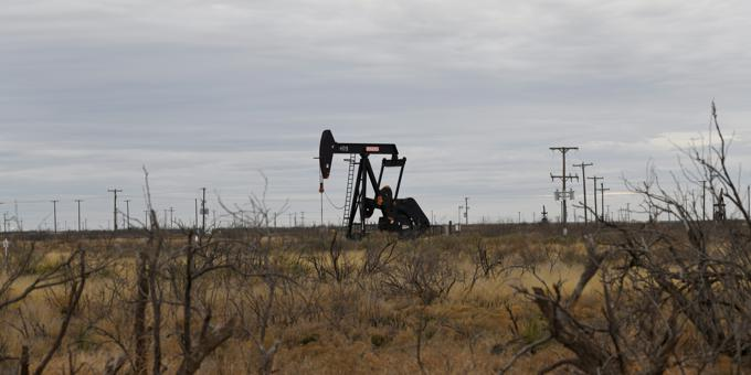 Polar vortex induced oil spike to fade