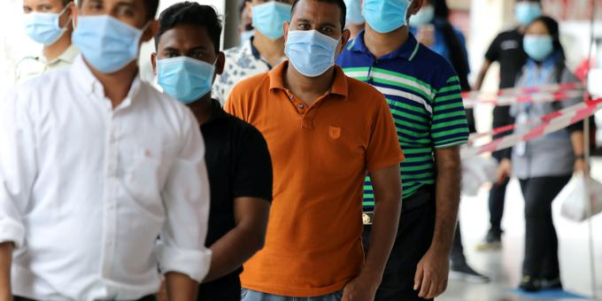 Malaysia factory bosses ordered to Covid-proof migrant labour lodgings
