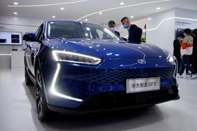 Huawei's carmaker move signals major EV gear shift