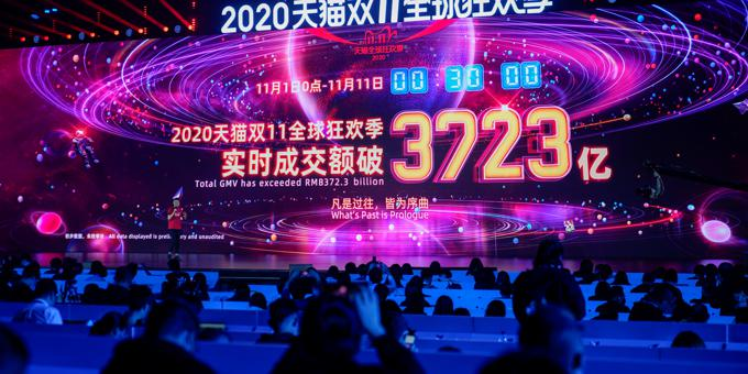 China e-shopping event rings in 580,000 sales per second