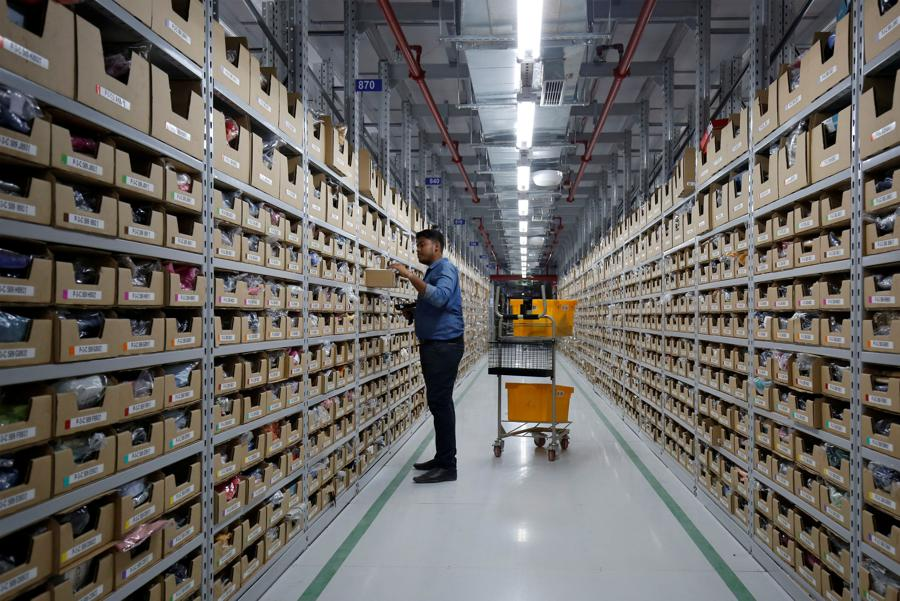 Amazon faces new antitrust challenge from Indian online sellers: legal documents