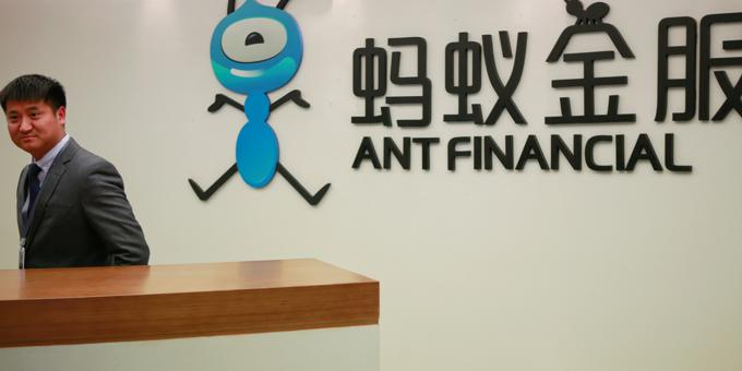 Shanghai exchange set to review Ant listing application