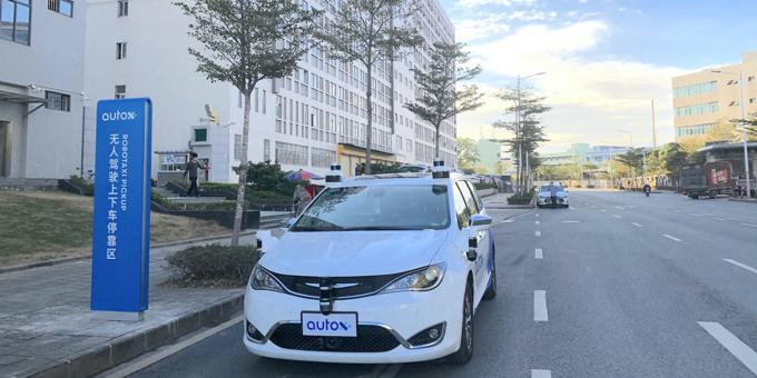 China's AutoX launches self-driving robotaxi project in Shenzhen