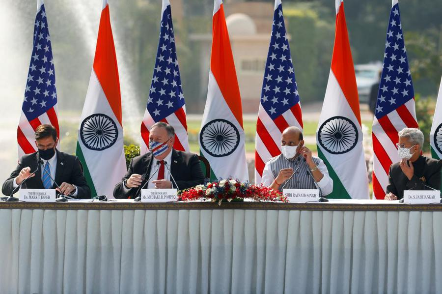 India signs information-sharing deal with the US