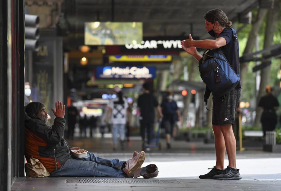 Australia's unemployment rate edges up to 6.9%