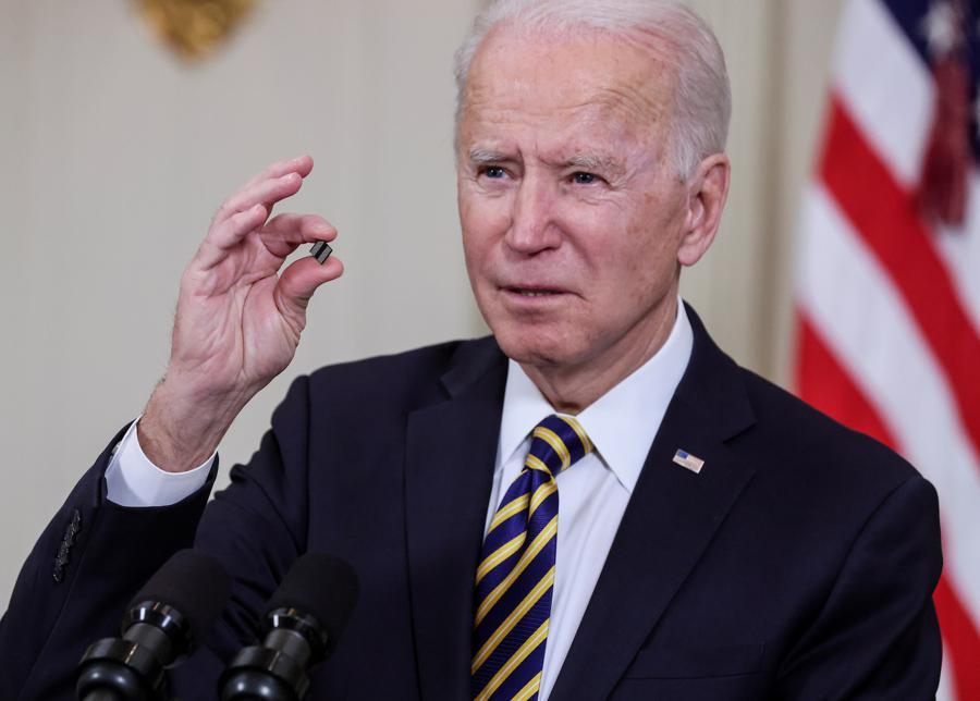 Biden sends warning to China on chips and rare earths