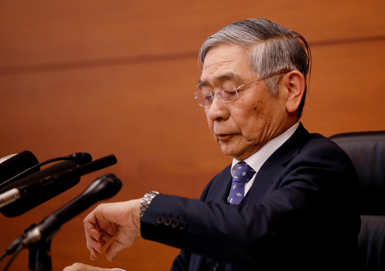 Kuroda says BOJ has no immediate plan to issue digital currency