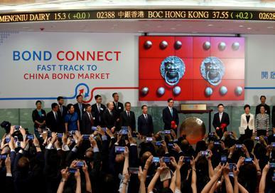 Chinese bonds 'bulldoze' ahead