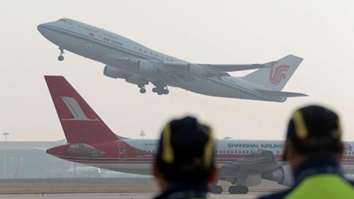 China's three major airlines lost $5 billion in 2020